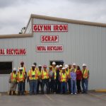 Glynn Iron scrap metal recycling staff